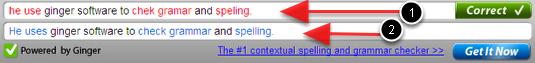 Grammar spell checker online 線上檢查英文文法和英文拼字的網站