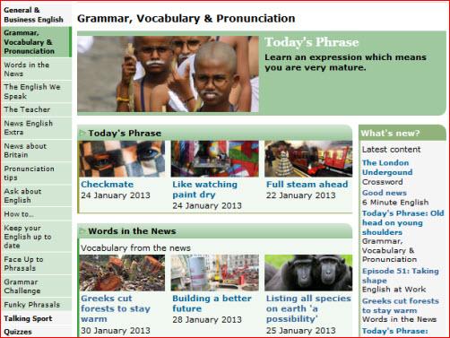 BBC文法、單字與發音學習