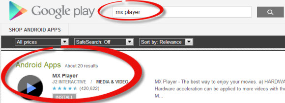 Mx Player 播放器