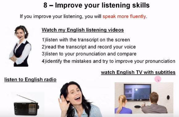 8個英文聽力技巧
