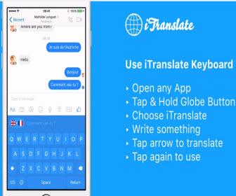 iTranslate - 免費語言翻譯 app
