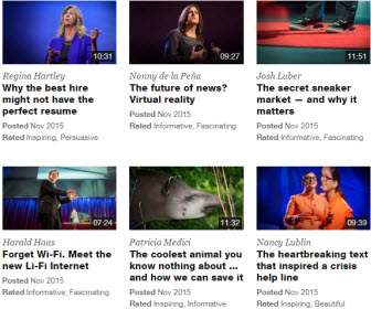 TED Talks 影片
