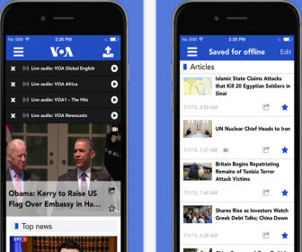VOA news App