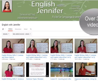 YouTube 學英文影片