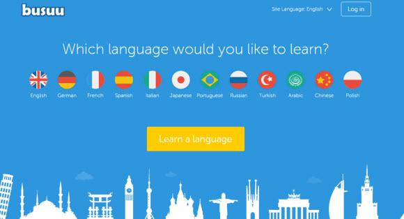 多國語言學習網站