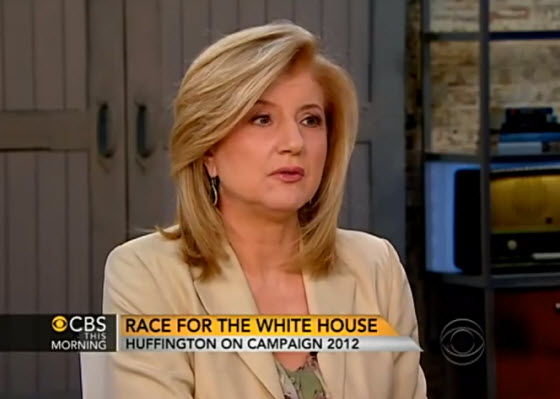 The Huffington Post創辦人亞麗安娜‧赫芬頓