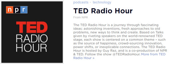 英語播客:Ted Radio Hour