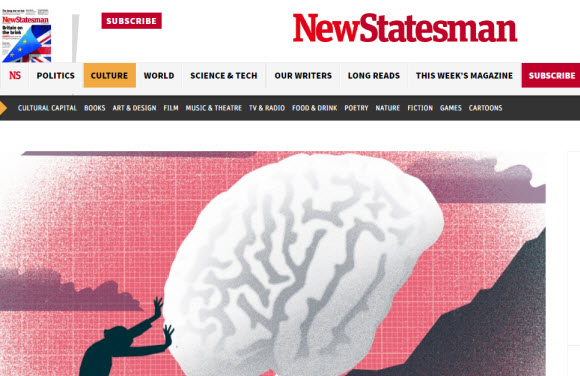 英國網站:The New Statesman
