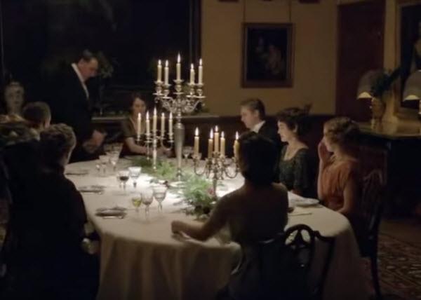 英國腔的電視節目:Downton Abbey