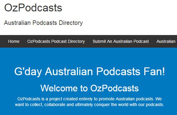 澳洲口音播客:Oz Podcasts