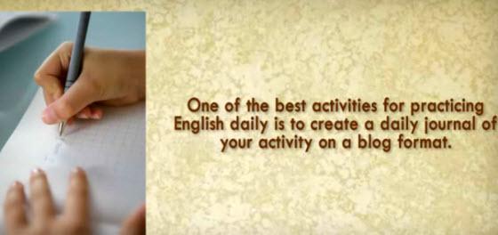 練習寫英文