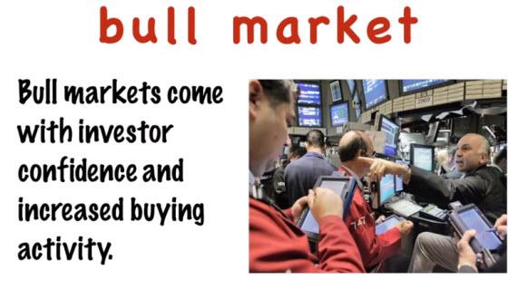 財經英文專門名詞:Bull market