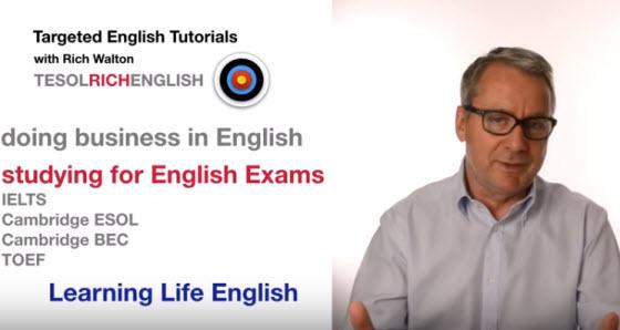 YouTube學習頻道:TESOL Rich English
