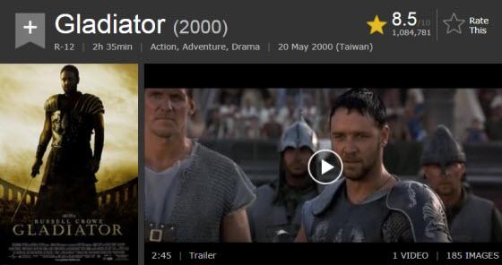 英語電影:神鬼戰士