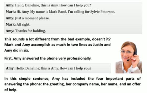 電話英文接聽例句