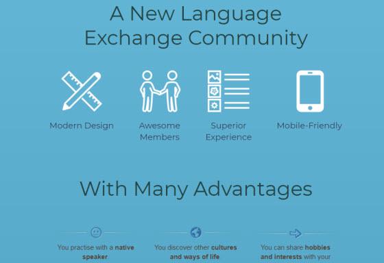 語言交流社群:Hellolingo