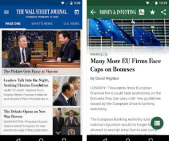 The Wall Street Journal app