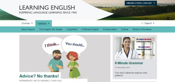 BBC Learning English網站