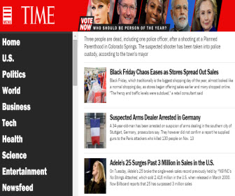 TIME英文網站