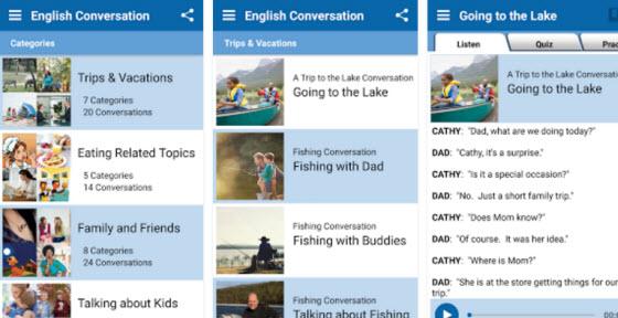 TalkEnglish手機應用程式